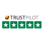 Trustpilot excellent 5-star ratings logo